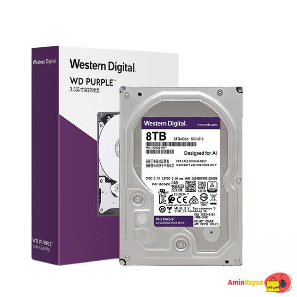 هارد دیسک اینترنال وسترن دیجیتال 8TB مدل WD82EJRX